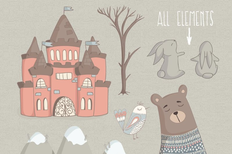 kind-collection-clipart-with-cute-animals
