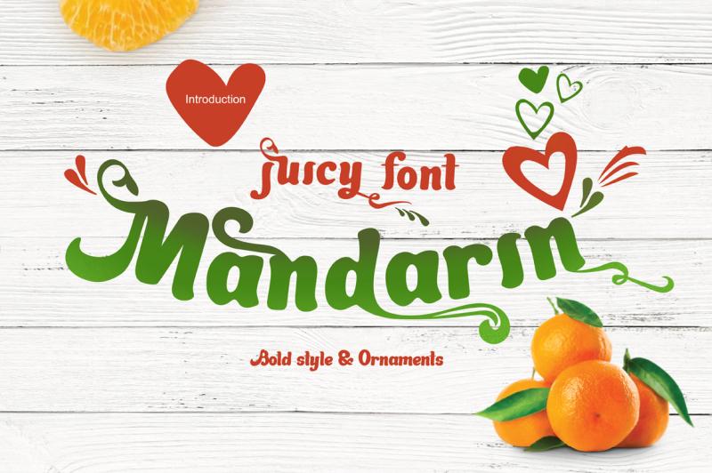 mandarin-juicy-font