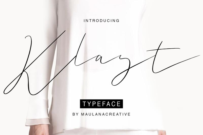 klast-typeface