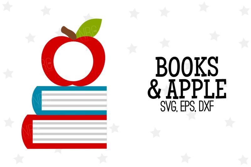 apple-books-frame-svg-cut-file