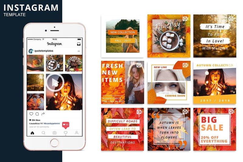 autumn-instagram-animated-template