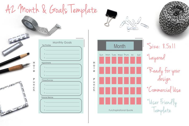 a2-month-and-goals-calendar-template