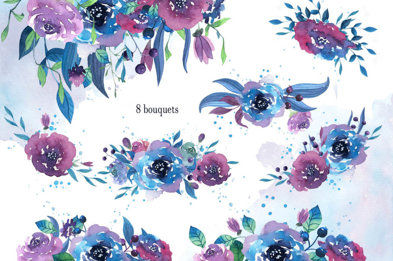 twilight-watercolor-flowers