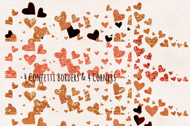 peach-and-amber-metallic-sparkle-hearts-valentine-s-day-love-graphics