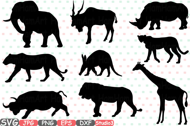 safari-animals-silhouette-svg-cutting-files-digital-clip-art-graphic-studio3-cricut-cuttable-die-cut-machines-school-clipart-party-illustration-set-digital-eps-png-dxf-jpg-clip-art-vector-lion-elephant-rhino-giraffe-cheetah-leopard-swarm-bull-antelope-245