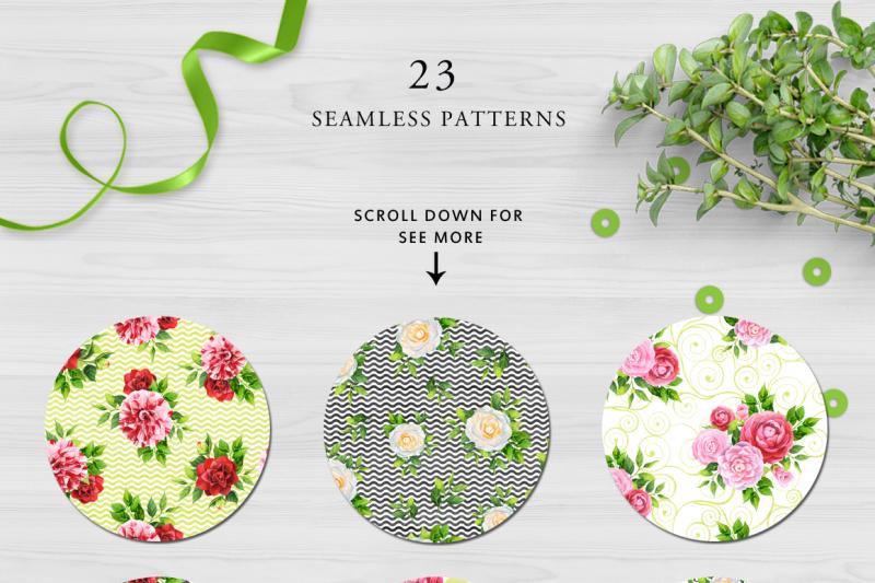 camellia-watercolor-collection