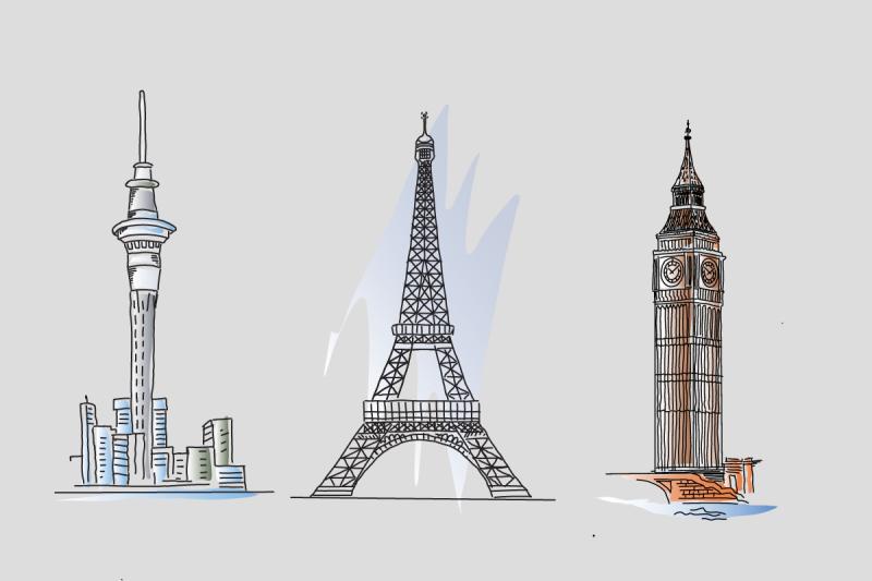 landmarks-svgs-for-videoscribe