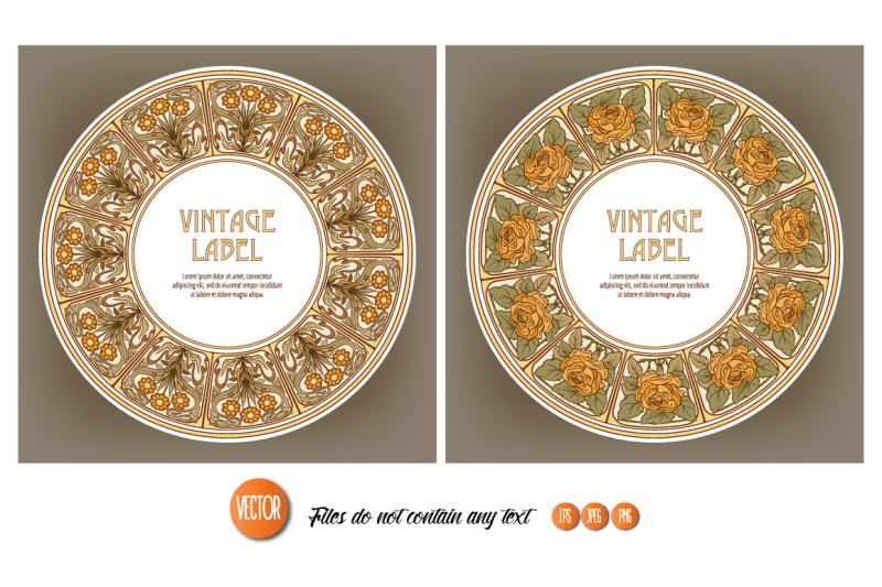 15-art-nouveau-labels-set-2