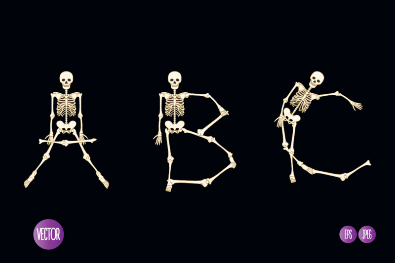 skeleton-font