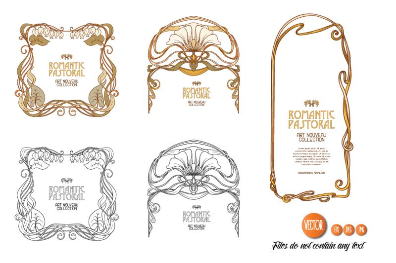 7-art-nouveau-frames