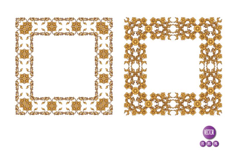 14-thai-ornament-frames
