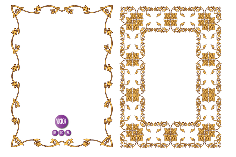 14-thai-ornament-frames