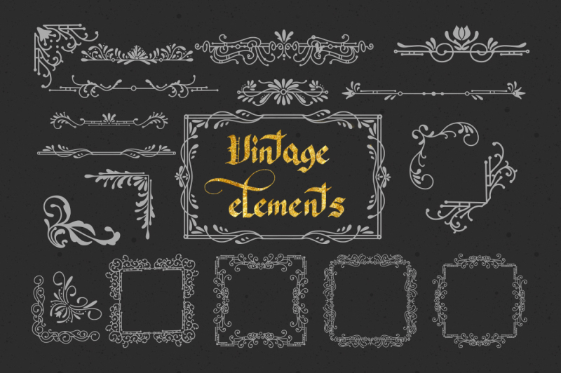 konigreich-font-and-20-vintage-elements
