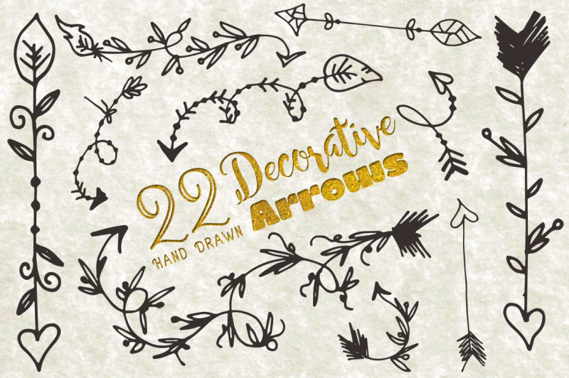 decorative-arrows