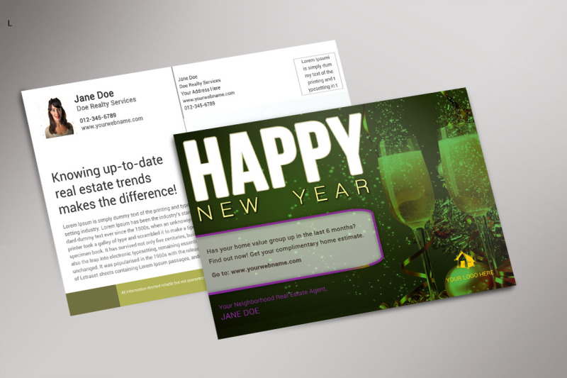 new-year-post-card