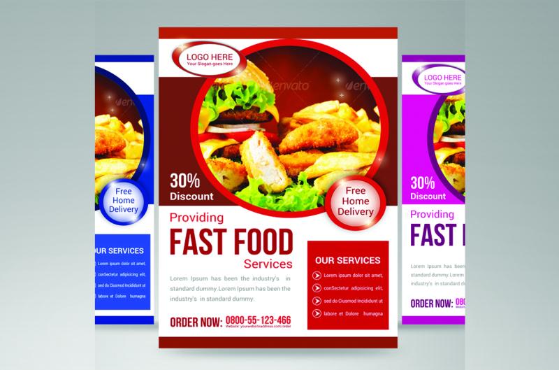 food-restaurant-flyer