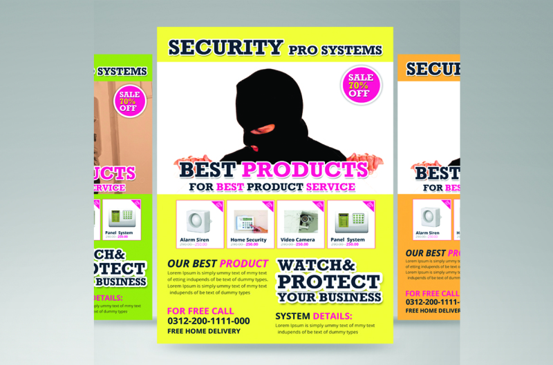 security-product-flyer