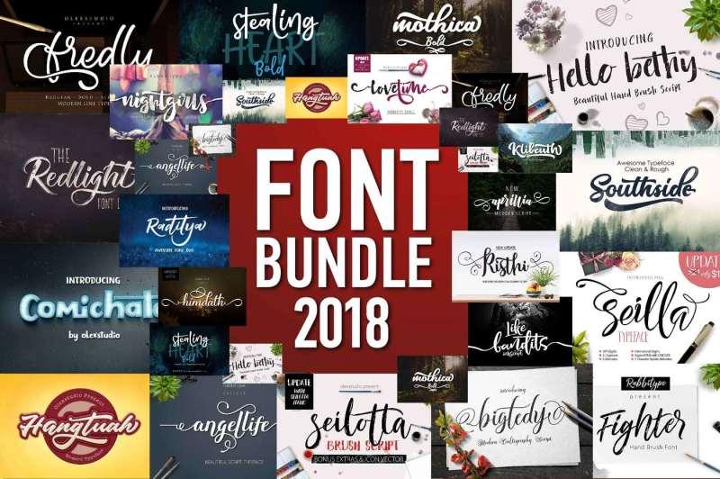 font-bundle-2018
