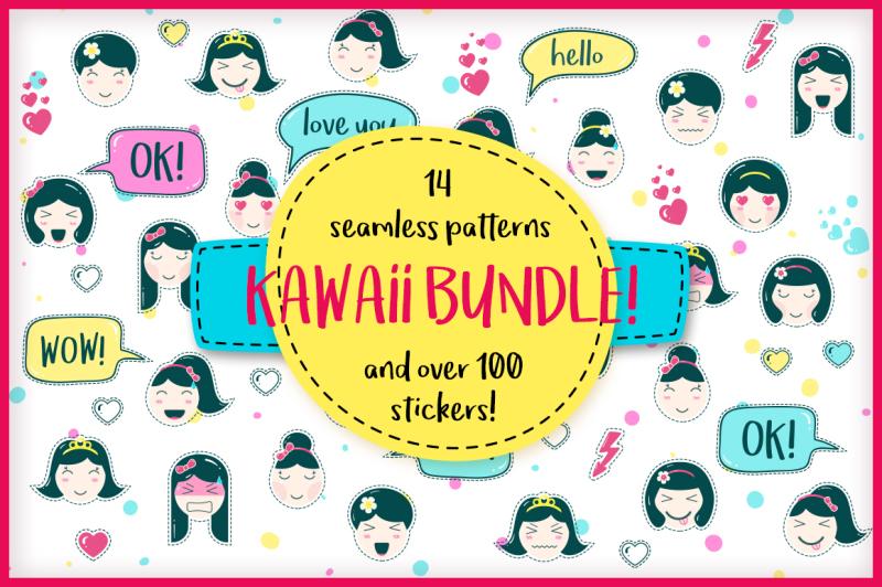 kawaii-kit-patterns-and-stickers
