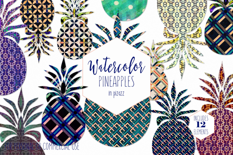 bold-geometric-pineapples