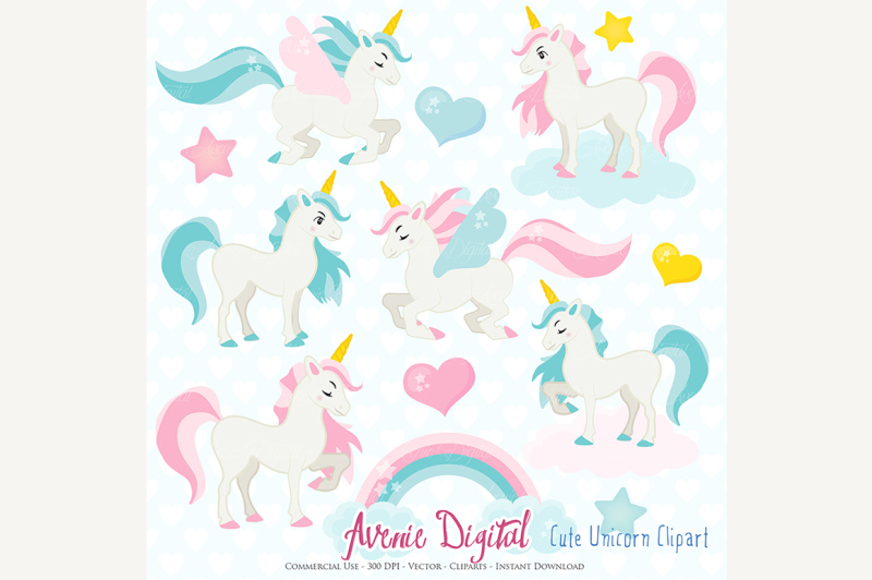 cute-unicorn-clipart