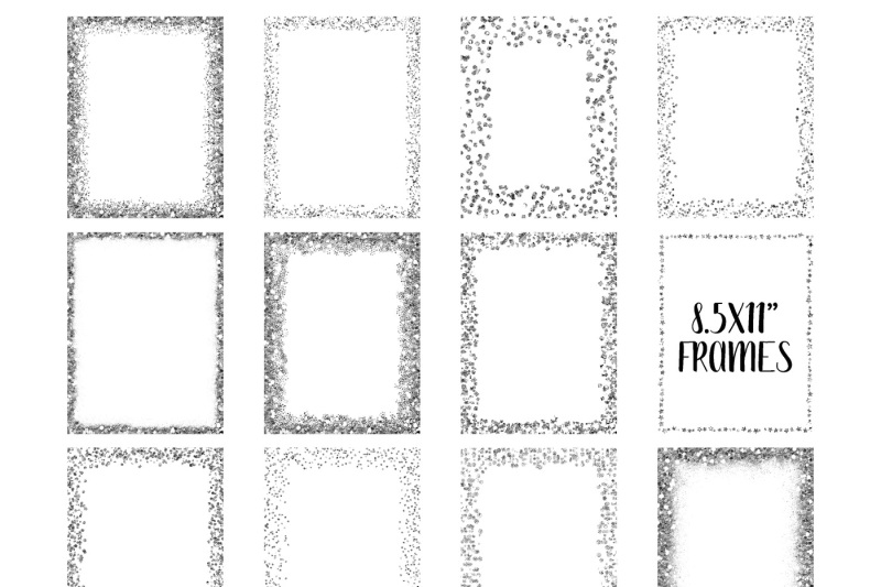 silver-glitter-frames-and-borders-png-clipart-bundle-includes-64-squares-circles-borders-and-more