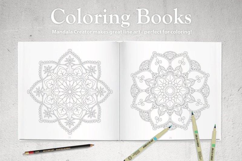 coloringbook-mandala-creator-floral-edition