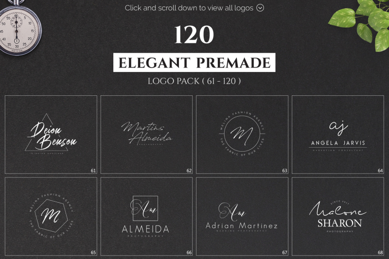 120-elegant-premade-logo-pack