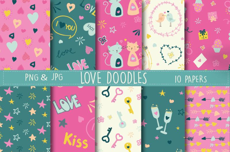 love-doodles-paper