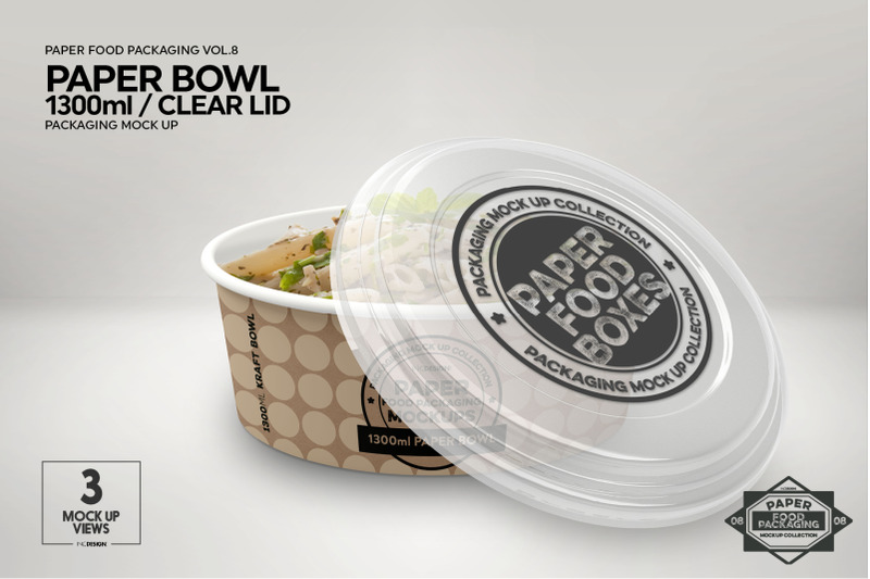 Download Plastic Transparent Container Mockup Half Side View Yellowimages