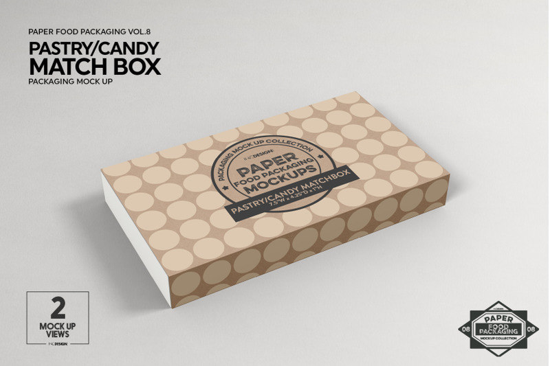 Vol 8 Paper Food Box Packaging Mockup Collection By Inc Design