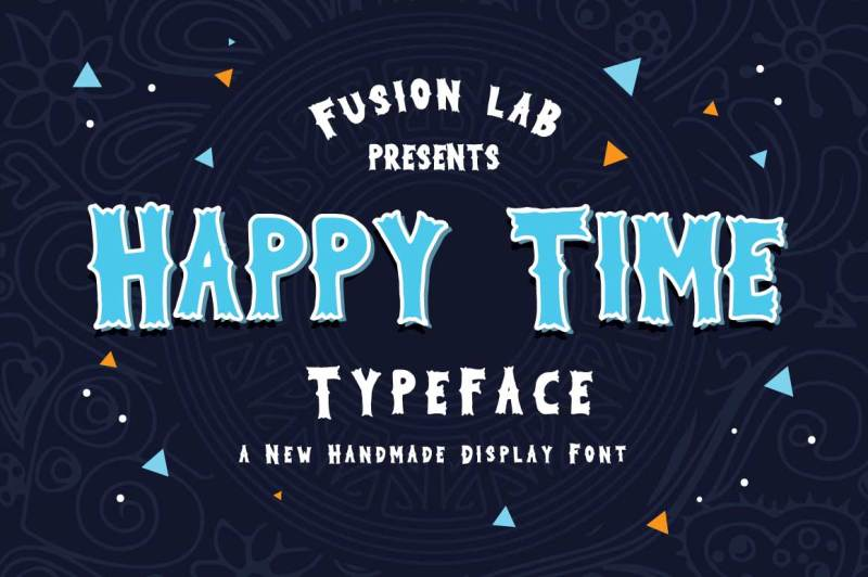happy-time-typeface