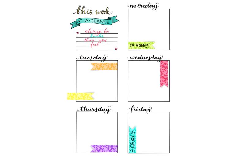 weekly-planner-printable