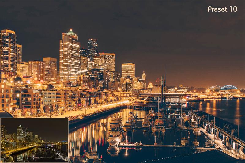 10-lightroom-presets-night-city-lights