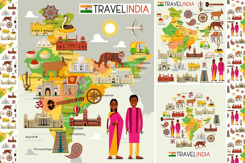 india-travel-set