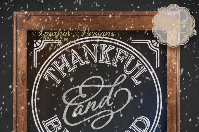thankful-and-blessed-cut-file