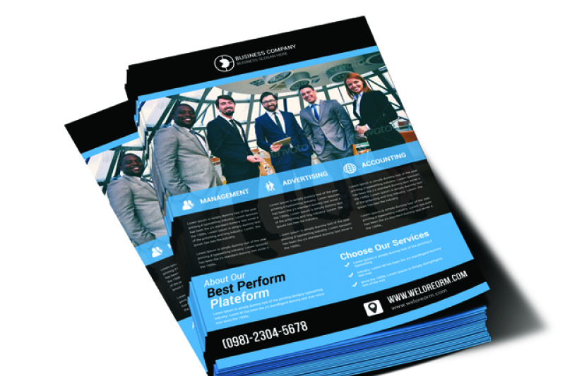 product-flyer-template