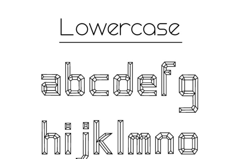 emerald-cut-display-font