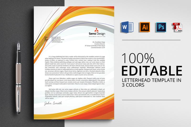 4-format-letterhead-template