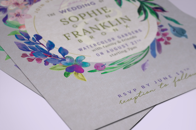 ultra-violet-lovely-foliage-invite-i
