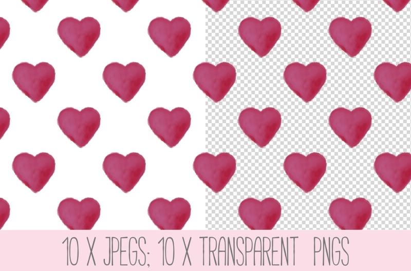 seamless-heart-patterns