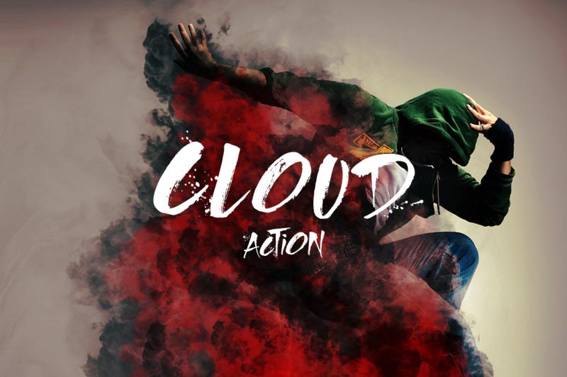 cloud-photoshop-action