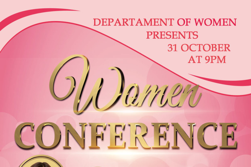 church-women-conference-flyer