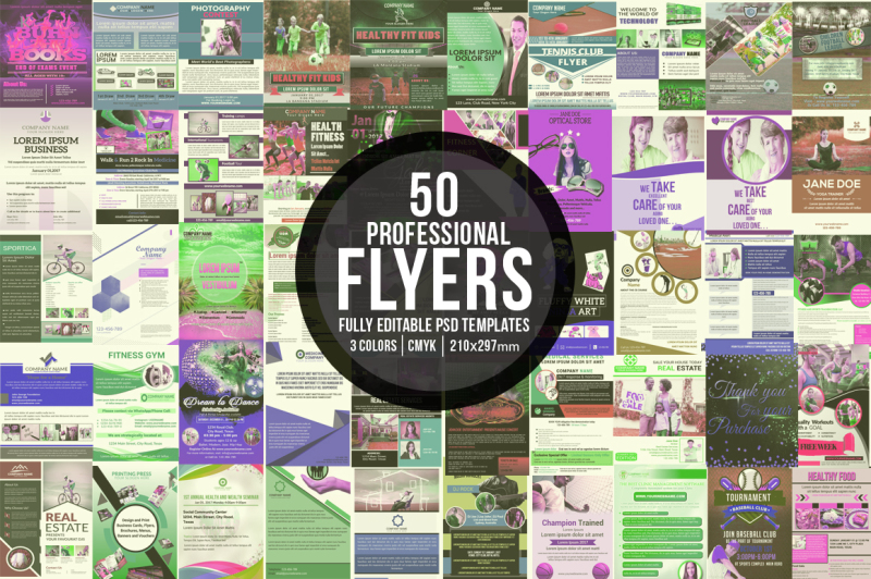 bundle-of-50-flyers-template