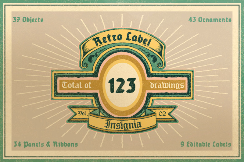 retro-label-insignia-vol-2