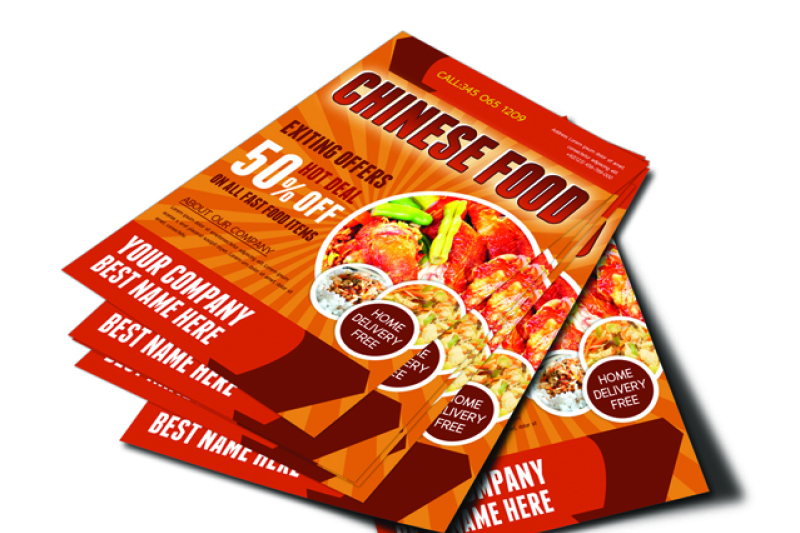 chinese-food-flyer-template