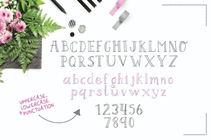 darling-bloom-font
