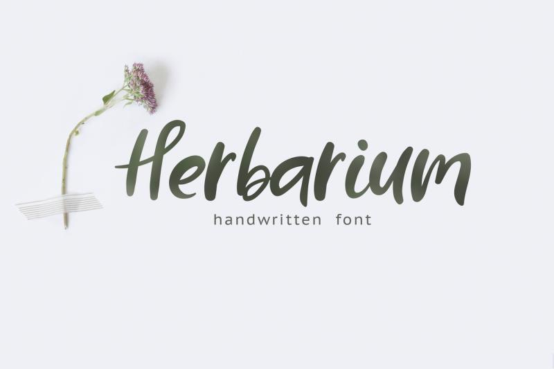 herbarium-font-extras