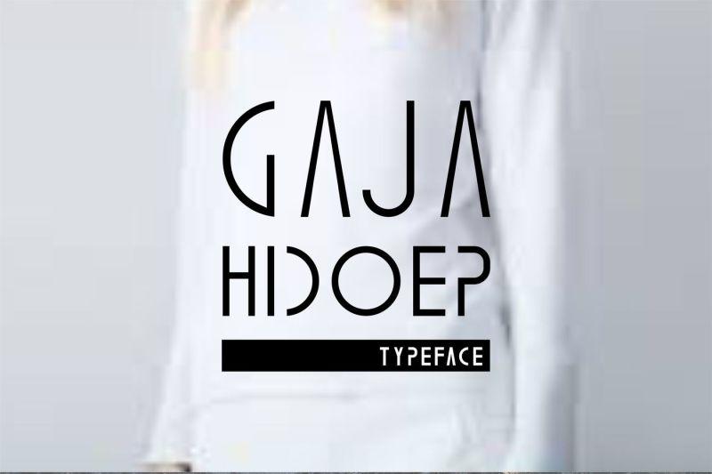 gaja-hidoep-2-font