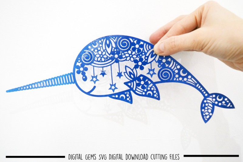 narwhal-paper-cut-svg-dxf-eps-files